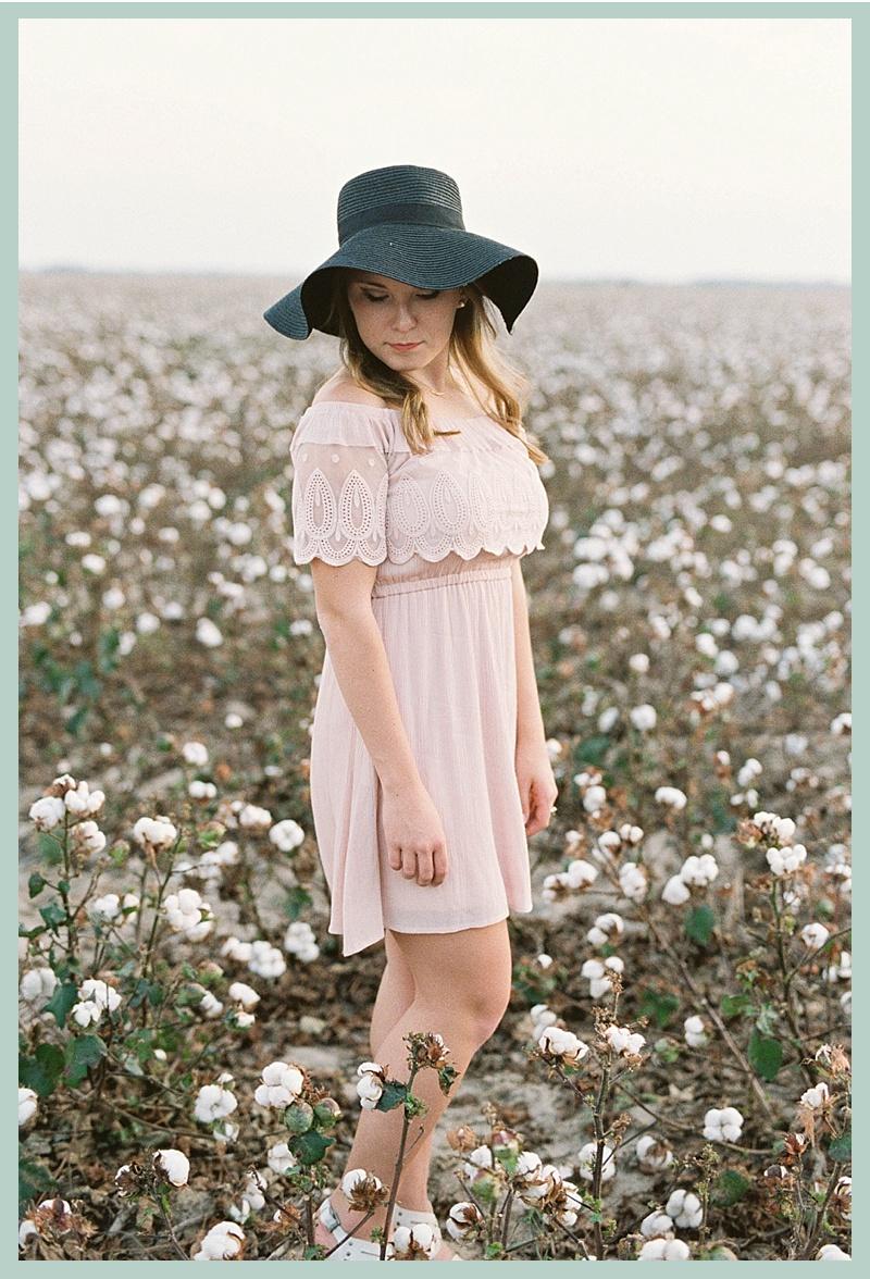 cotton field session